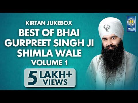 Best Of Bhai Gurpreet Singh Shimla Wale Vol. 1 | Non Stop Kirtan | Kirtan Jukebox | Amritt Saagar