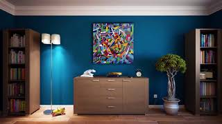 Interior Design/Abstract Painting/Modern Art