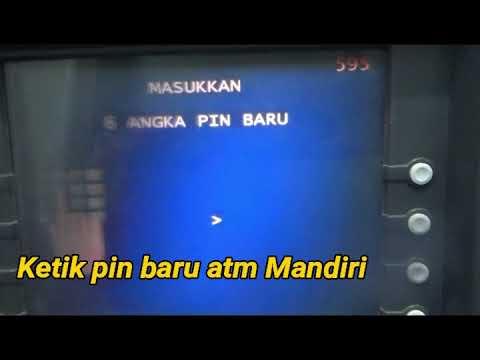 Cara Ganti PIN Kartu ATM Bank Mandiri Mohon maaf jika masih banyak kekurangan dan ada kesalahan dala.