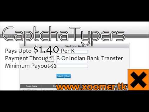 CaptchaTypers Admin Panels Available = $9 99/-