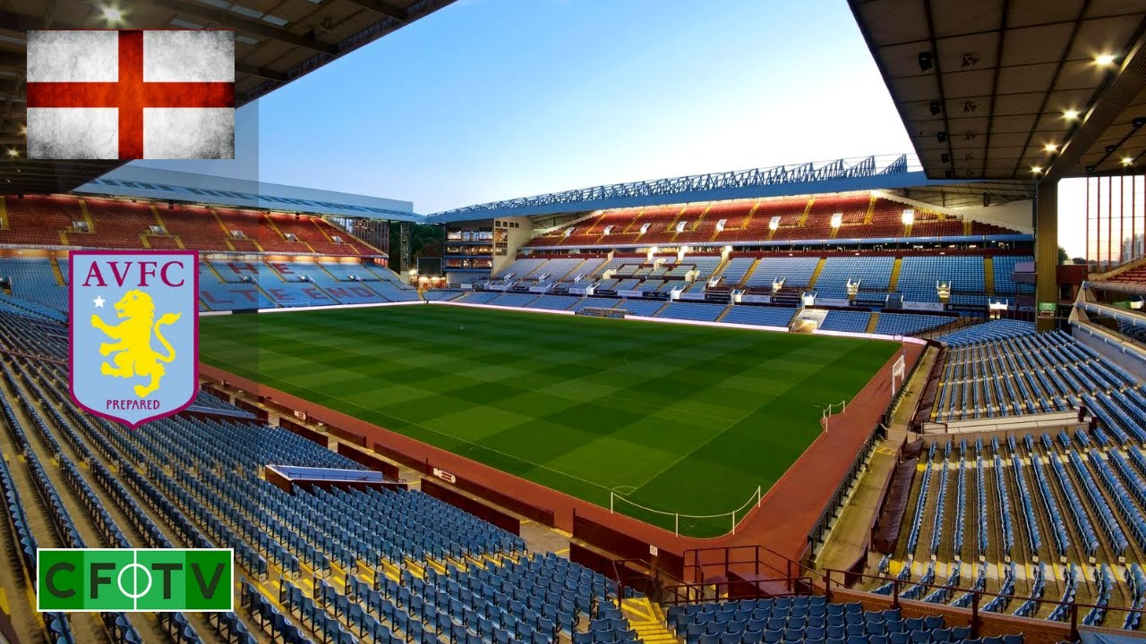 Aston Villa FC Football Stadium - Villa Park - YouTube