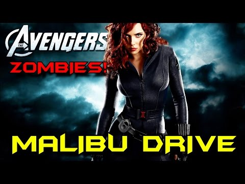 MALIBU DRIVE: Avengers Zombies Solo EASTER EGG Attempt! ★ CoD Custom Zombies Maps/Mods Gameplay