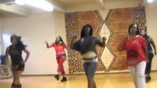 Buddy Swagg (Lady T & Stockton Soul Train Line Dancers in California)