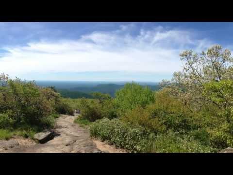 Blood Mountain Hike On The Appalachian Trail In North Georgia