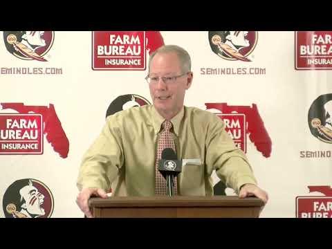 FSU Athletics Director David Coburn On New Coach Search, Firing Taggart