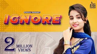 Ignore | (Official Video) | Renuka Panwar | New Haryanvi Songs 2021 | Jass Records Entertainment