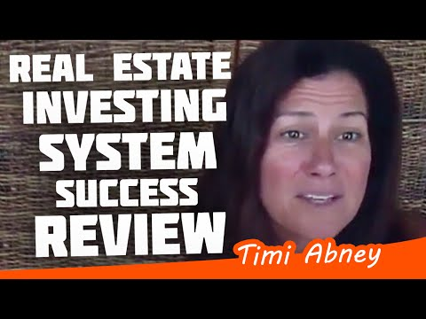 Real Estate Investing Success System Review by Timi Abney from YouTube · Duration:  1 minutes 26 seconds