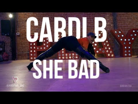CARDI B | SHE BAD ft. YG - ALEXIS BEAUREGARD CHOREOGRAPHY
