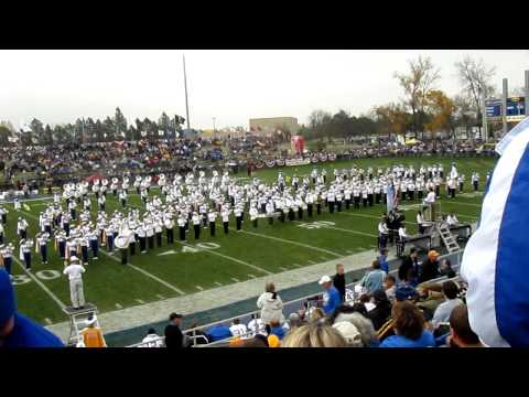 SDSU Pride of the Dakotas with Pride Alumni Band
