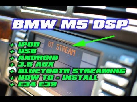 BMW 5 SERIES IPOD BLUETOOTH USB With DSP (BMW M5 E34 E39 530) [ GROMAUDIO ]