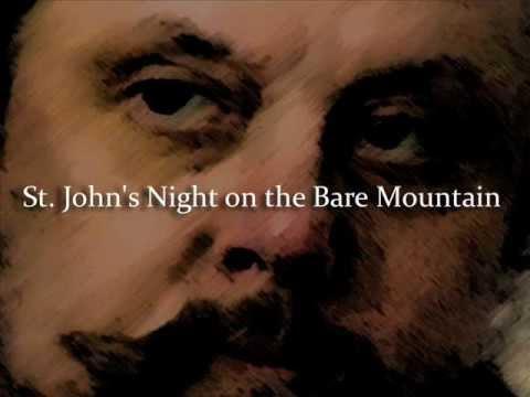 Mussorgsky the original St. John's Night on the Bare Mountain