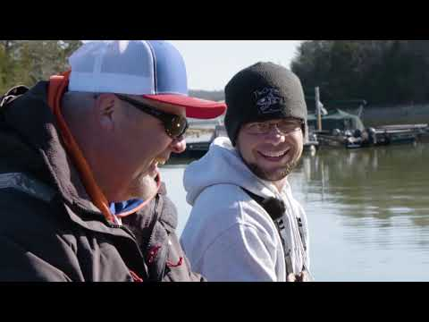 Jigging For Slabs On Watts Bar, Tennessee (Matt Xenos And Russ Bailey)