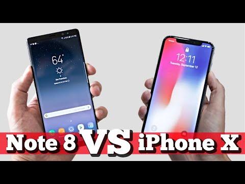Сравнение: iPhone X vs Note 8. Что брать?