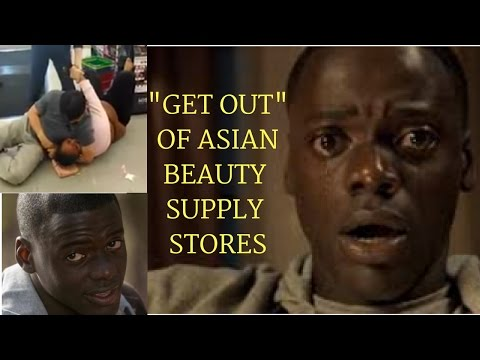 "How  The Movie ""Get Out"" relates to Asian Choking Black Woman"