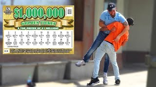 FAKE ,000 LOTTERY TICKET PRANK