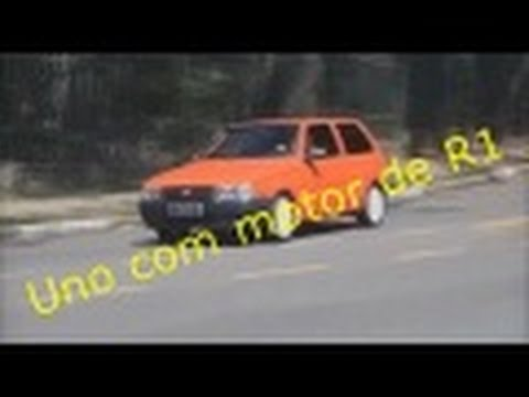 Fiat Uno Com Motor De Yamaha R1   Top