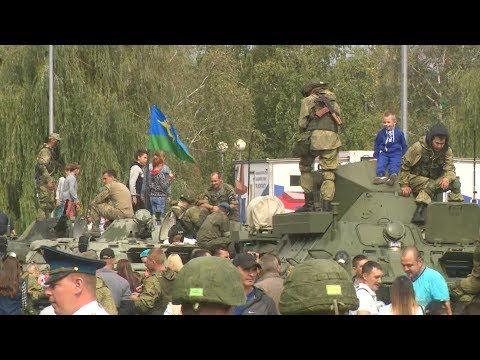 В Камышине проходят торжества в честь Дня ВДВ