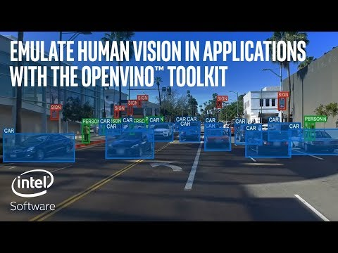 Emulate Human Vision in Applications with the OpenVINO™ toolkit | Intel Software