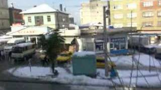 giresun keşap belediye personelinin kar sevinci