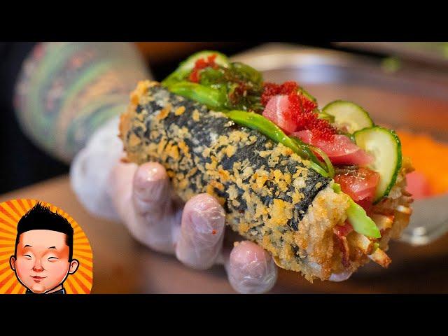Как приготовить Суши-Дог | Sushi-dog