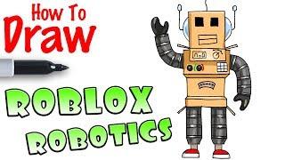 How to Draw Robotics | Roblox