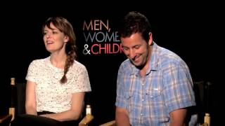 Rosemarie DeWitt & Adam Sandler: MEN, WOMEN AND CHILDREN