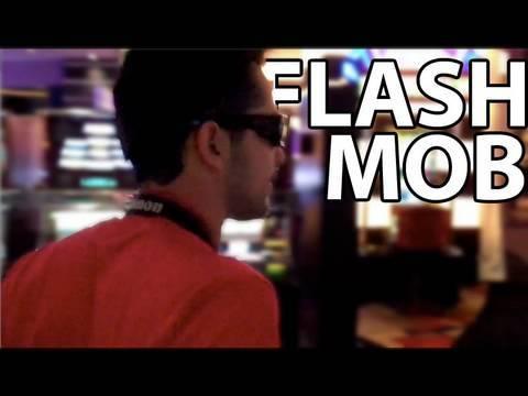 SECRET VEGAS CASINO FLASH MOB! - SECRET VEGAS CASINO FLASH MOB!