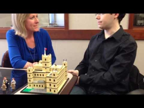 Rochester Man Uses Legos to Build Downton Abbey