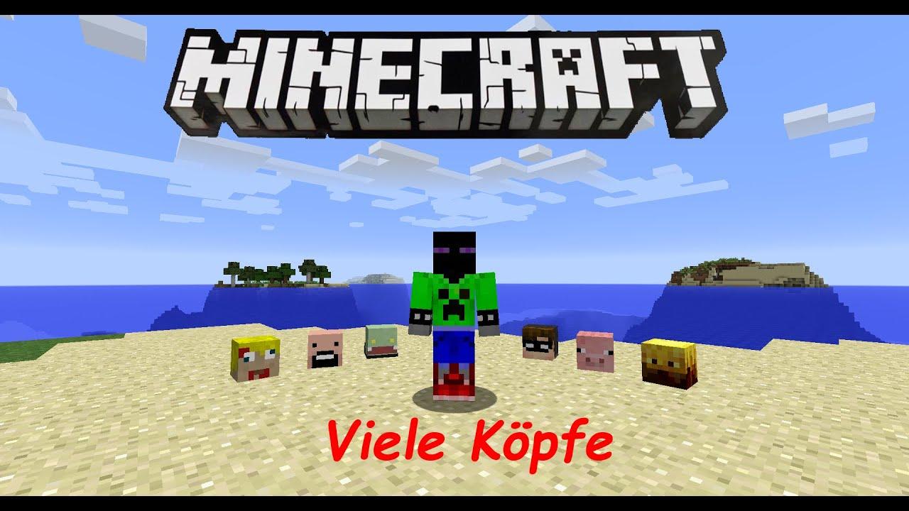ALLE Spielerköpfe Auf Befehl Tutorial YouTube - Minecraft wiki spielerkopfe