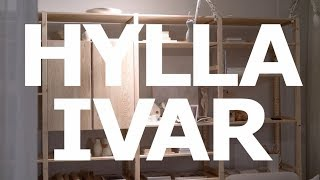 IKEA IVAR層架組產品影片