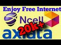 Use Free net in Ncell (2074)