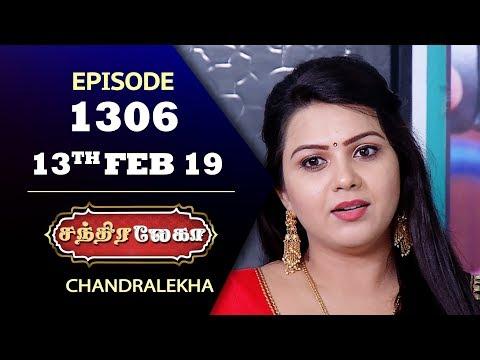 CHANDRALEKHA Serial | Episode 1306 | 13th Feb 2019 | Shwetha | Dhanush | Saregama TVShows Tamil