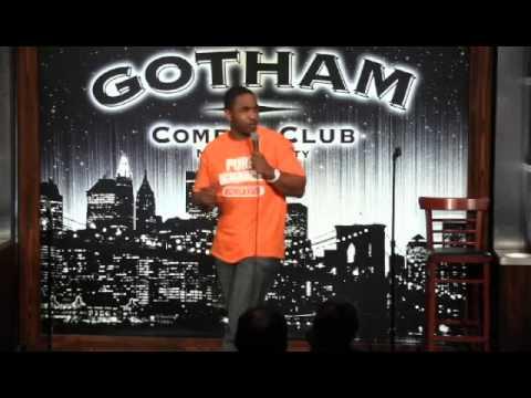 G -Rich at Gotham Comedy Club