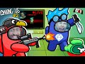AMONG US: Stream Sniping DanTDM the Imposter 🔴LIVE Youtuber Collab #2 FGTeeV Sus