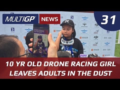 Drone Racing News: 10 Year Old Drone Racing Girl From Thailand Leaving Adults in The Dust