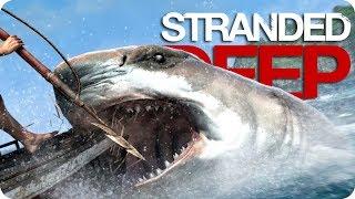 ¡EL CAZADOR DE TIBURONES! | Stranded Deep #24