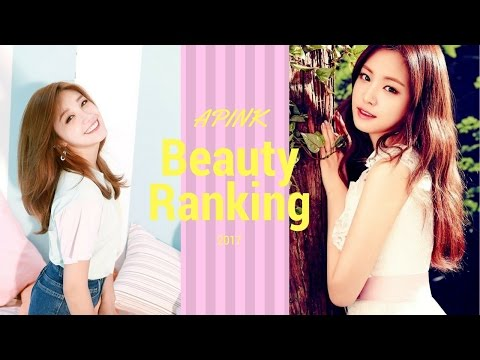 Apink Beautiful Ranking 2017