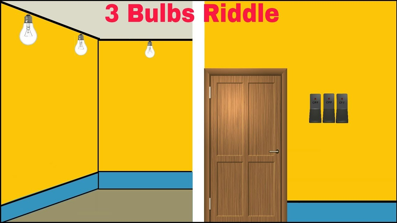 3 Bulbs 3 Switches Riddle | Logical Riddle - YouTube