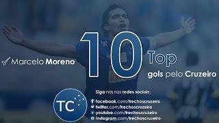 vuclip MARCELO MORENO - TOP 10 GOLS PELO CRUZEIRO (HD)