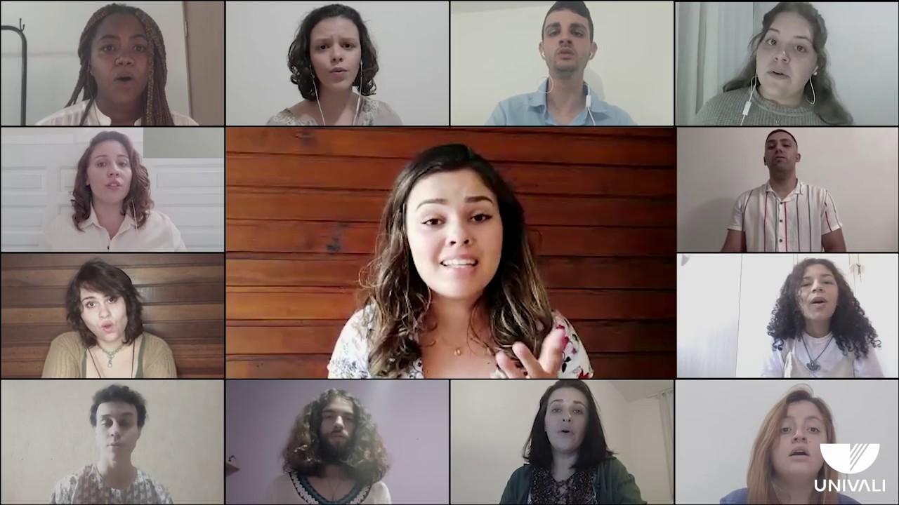 Coral Univali apresenta mais um vídeo produzido durante a pandemia