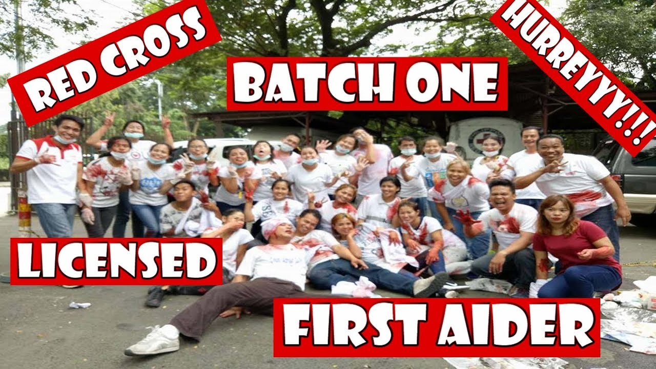 How To Become Certified Red Cross Licensed Basic Life Support First