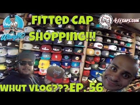 Fitted Cap Shopping + 4U Caps 'Whut Vlog??? Ep. 56'