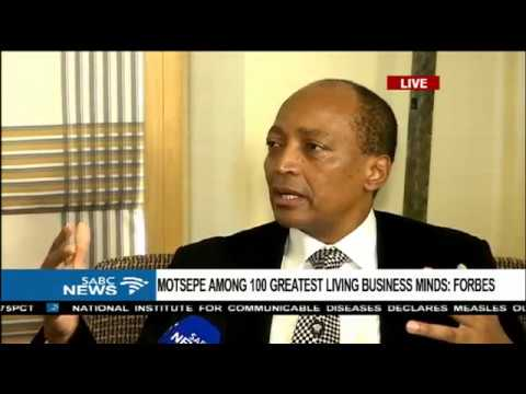 Patrice Motsepe honoured by Forbes
