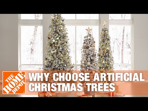 Why Choose Artificial Christmas Trees | The Home Depot
