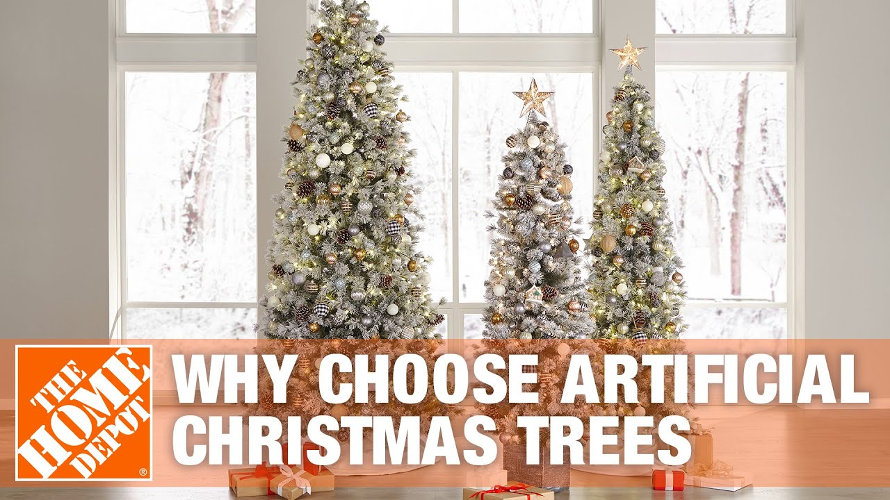Why choose artificial christmas trees youtube