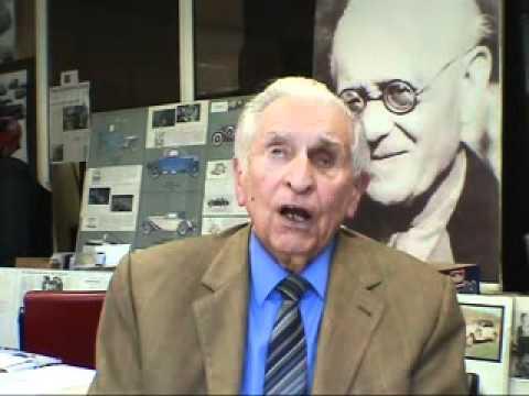 Edgar Friedrich, der letzte Lehrling von August Horch