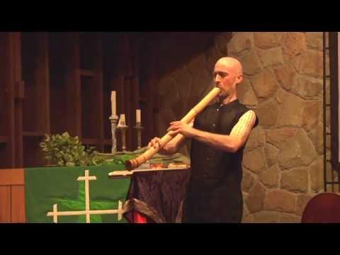 Tamuke 手向 Zen Buddhist Bamboo Flute (bass/Taimu) Shakuhachi Played By Cornelius Boots (深禅)