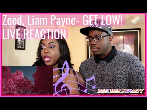 Zedd, Liam Payne - Get Low Infrared | Couple Reacts