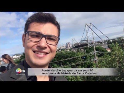 Ponte Hercílio Luz guarda em seus 90 anos parte da história de Santa Catarina