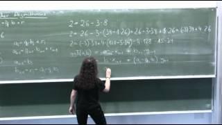 Erweiterter Euklidischer Algorithmus Teil 2